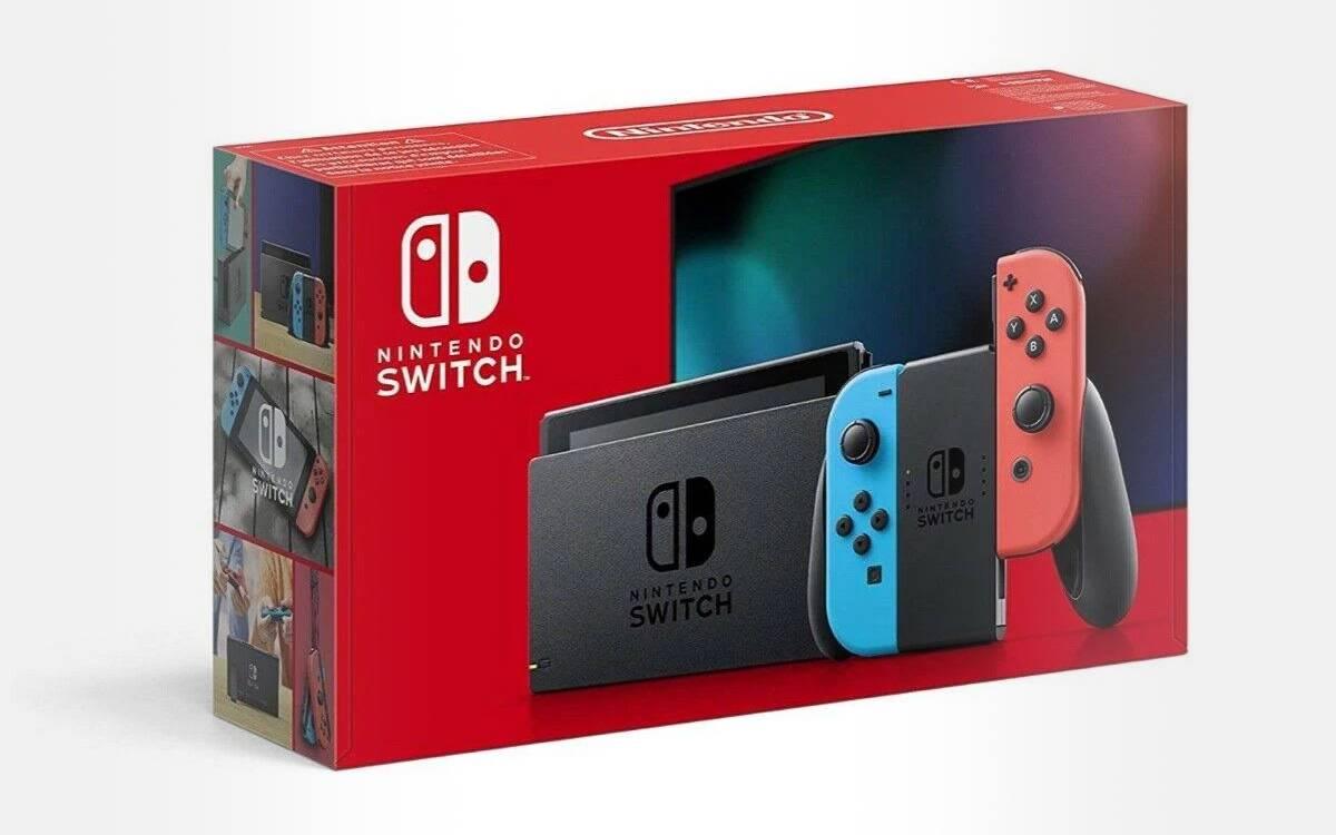 console Nintendo Switch pas chère à la Fnac
