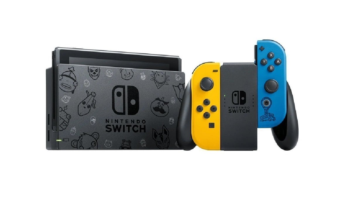 Nintendo switch edition spéciale fortnite