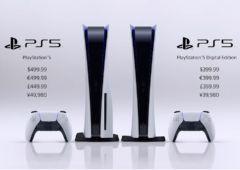 PS5 prix date sortie
