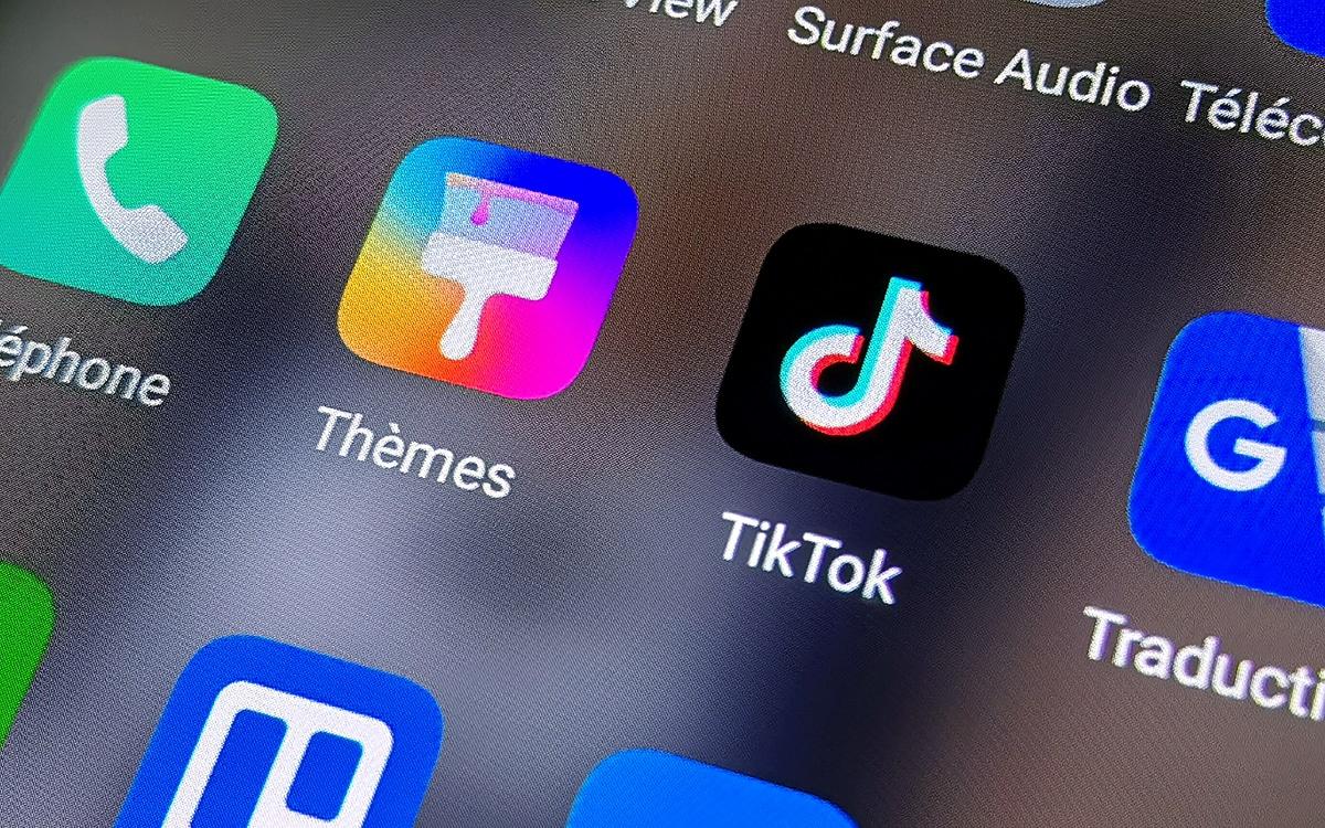 Retrouver mot de passe TikTok