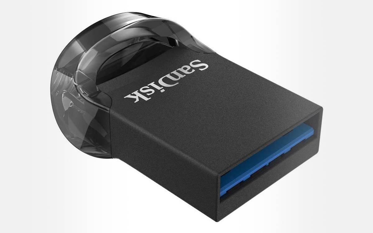clé USB 3.1 SanDisk Ultra Fit 128 Go pas chère