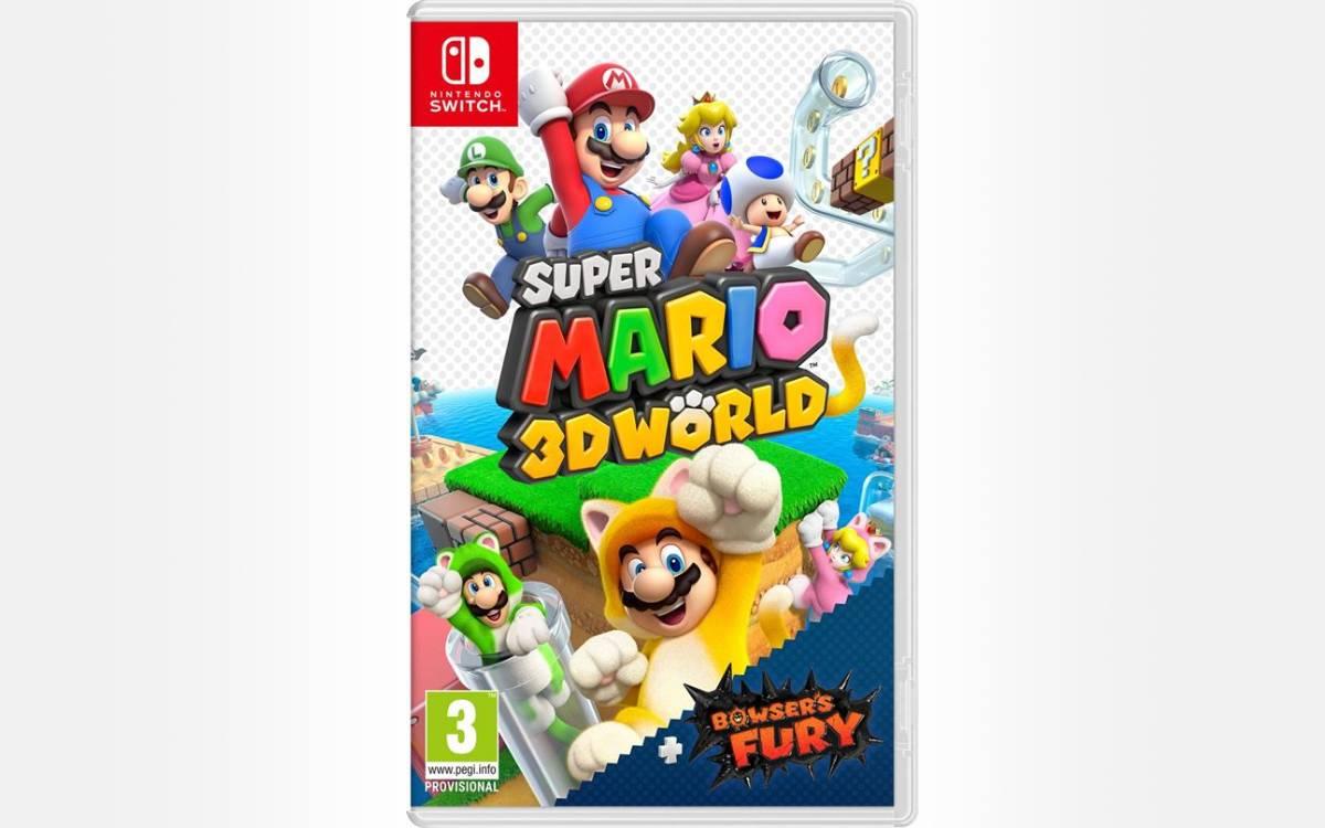 Super Mario 3D World + Bowser's Fury au meilleur prix