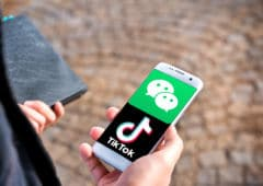 TikTok WeChat Smartphone