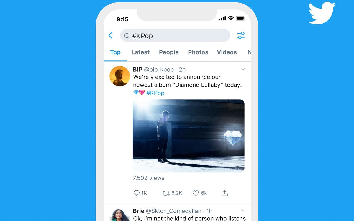 Tweet trend