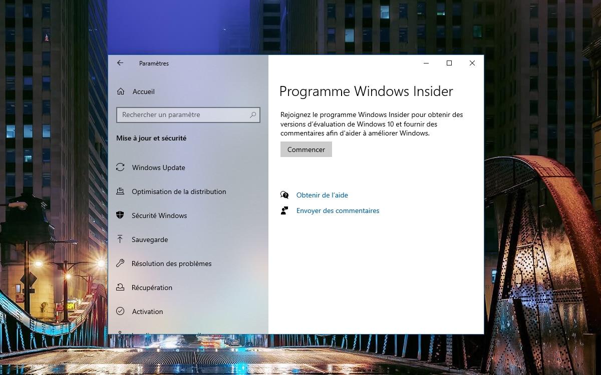 Windows 10 Acceder Programme Windows Insider
