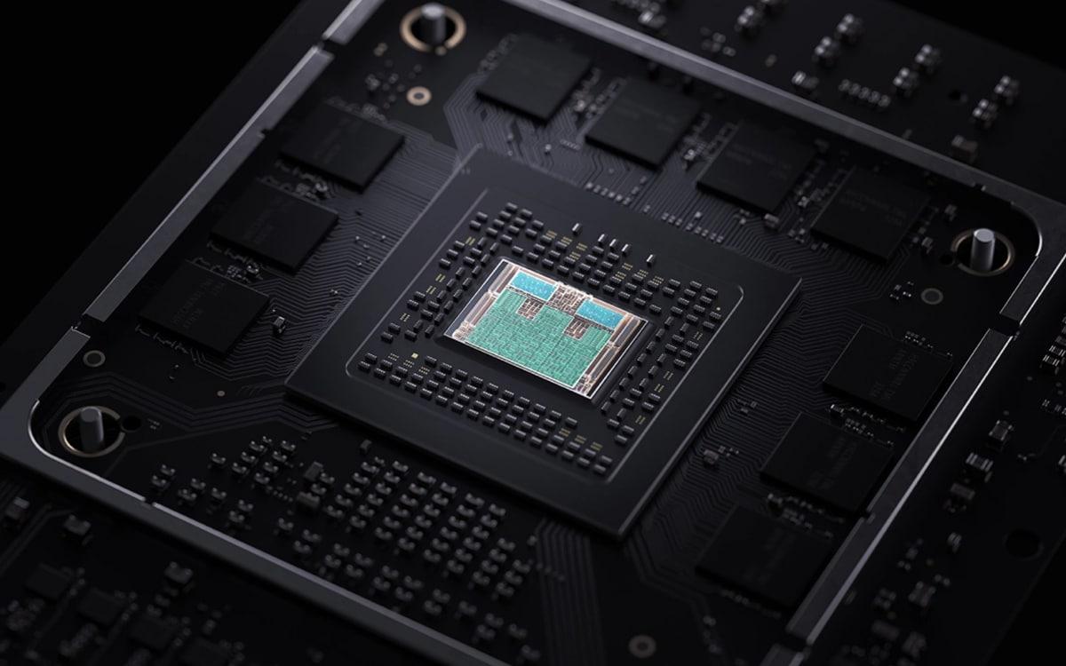 Xbox Series X Processeur
