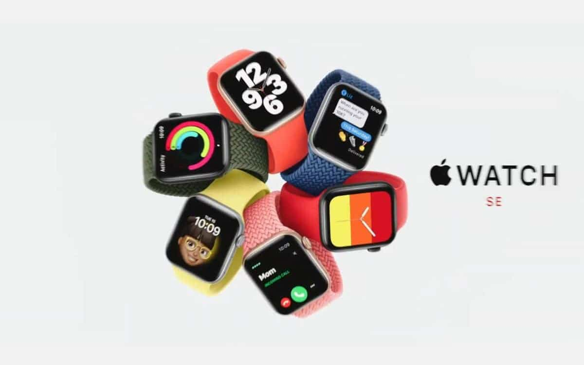 apple watch se officiel