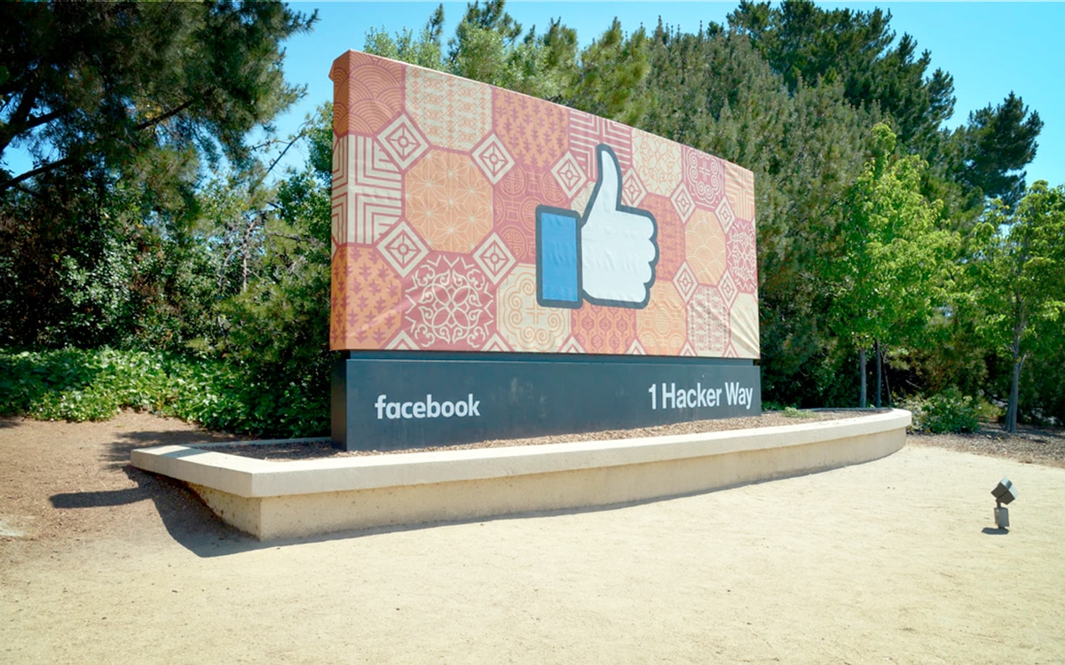 Siège de Facebook en Californie