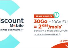 forfait cdiscount mobile 30 Go