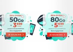 forfaits cdiscount mobile 50 et 80 Go