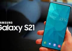 galaxy s21 s30 pas camera selfies sous écran