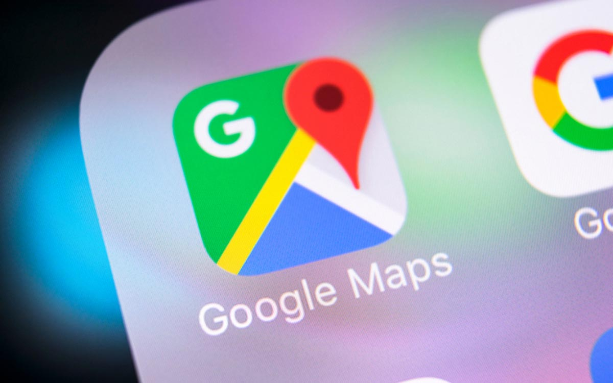 Google Maps : mode sombre