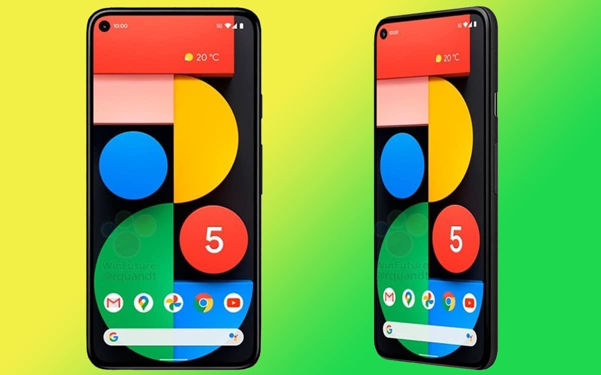 google pixel 5 fiche technique