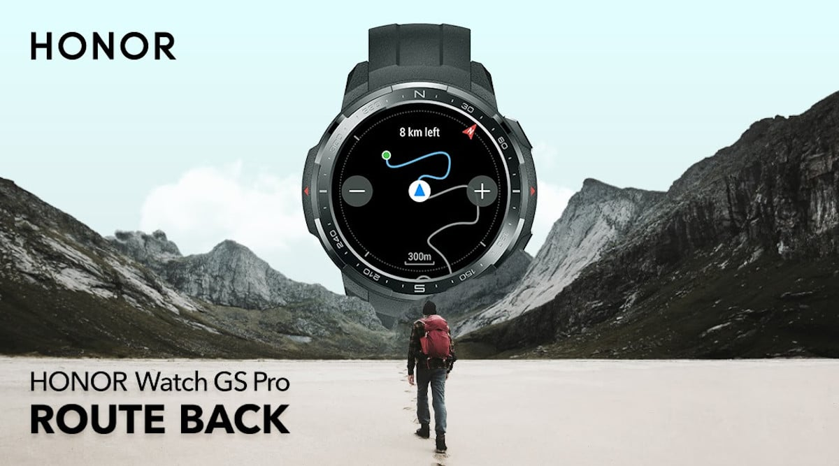 honor watch gs pro ifa 2020