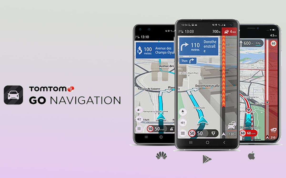 huawei appgallery tomtom google maps