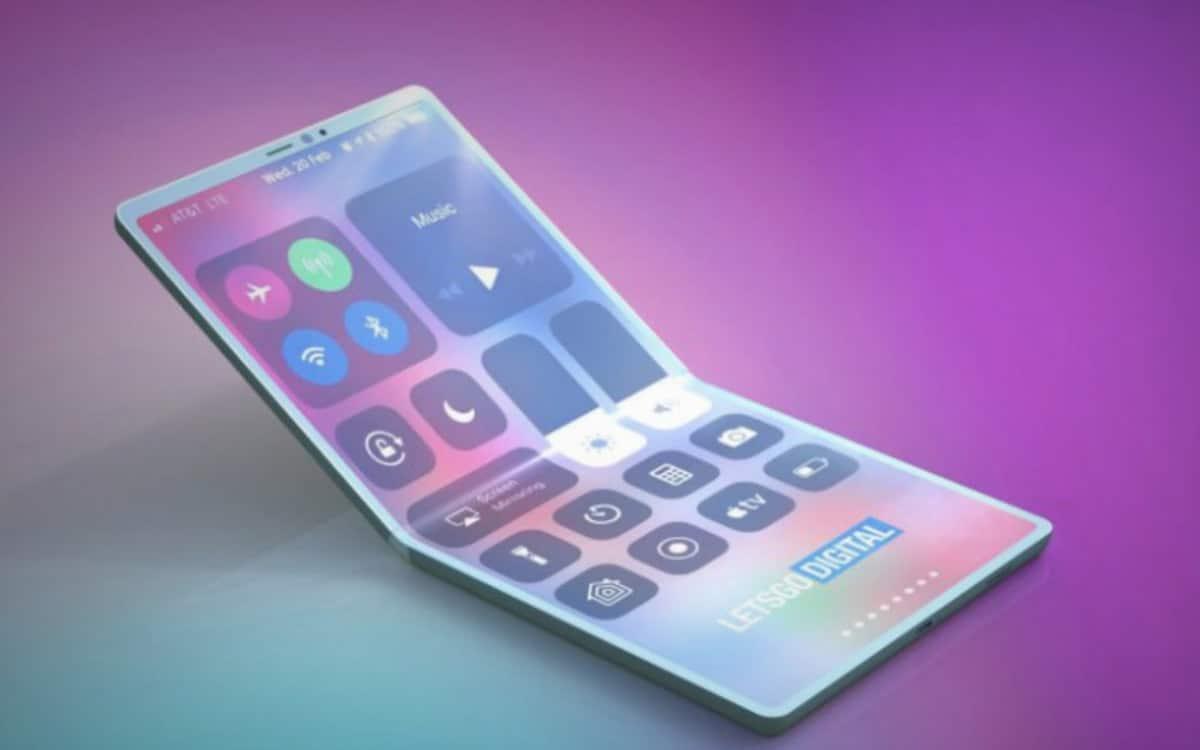 iphone pliable apple commande écrans samsung