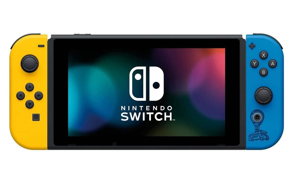 joy-cons nintendo switch fortnite