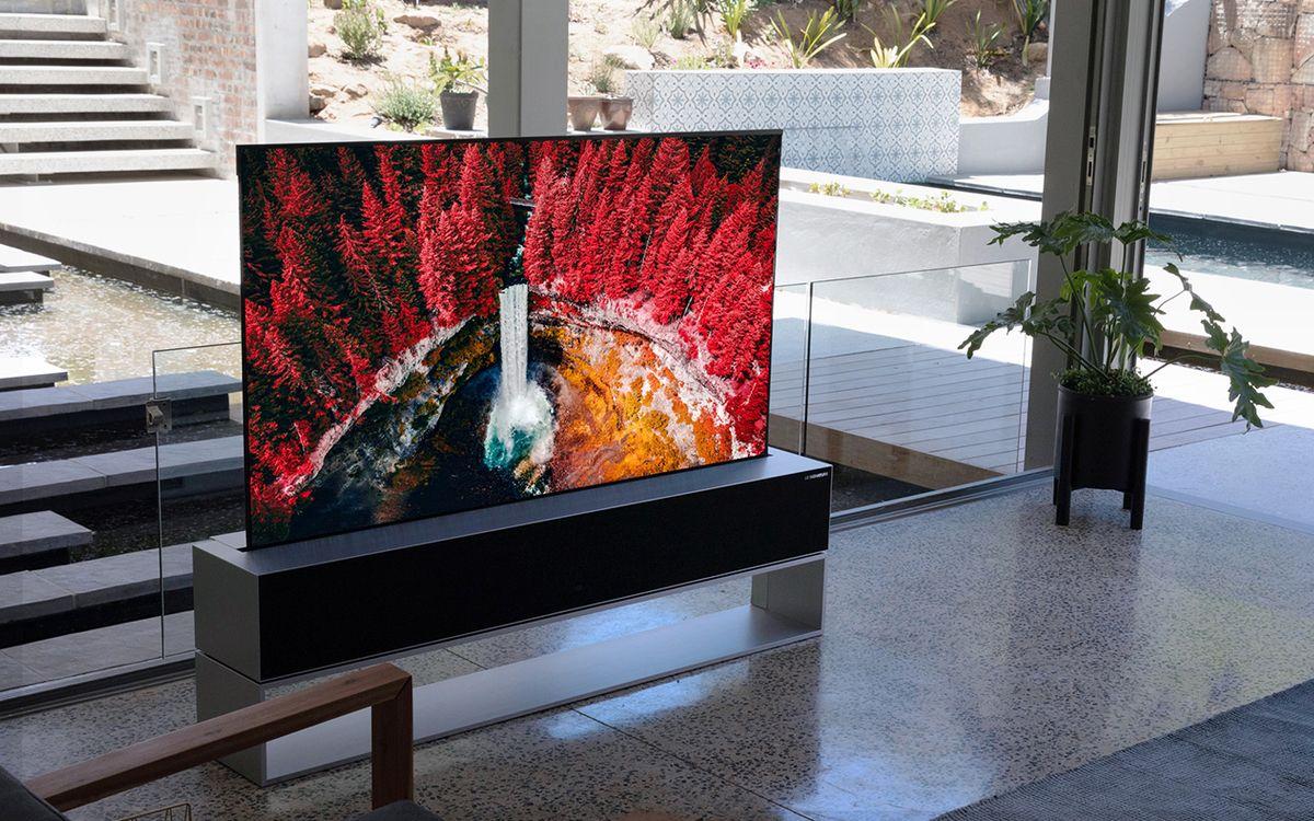 La télé enroulable de LG