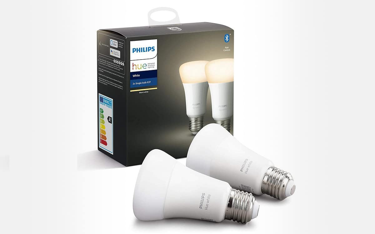 paquet de 2 ampoules LED Philips Hue