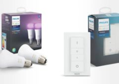 pack Philips Hue ampoules dimmer swtich
