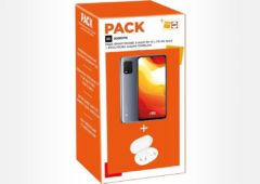 pack Xiaomi Mi 10 Lite 5G ecouteurs Earbuds