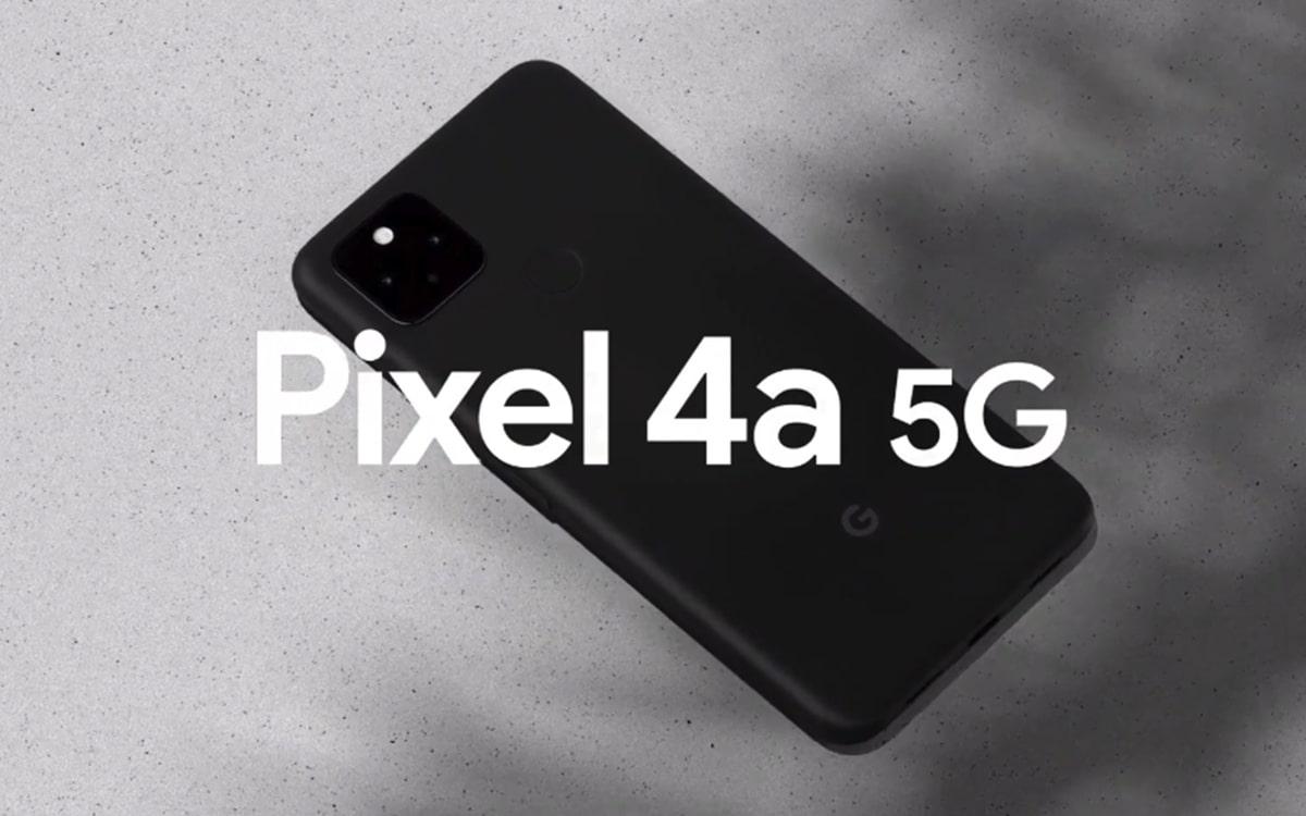 pixel 4a 5g officiel