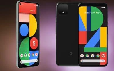 Pixel 5 et Pixel 4