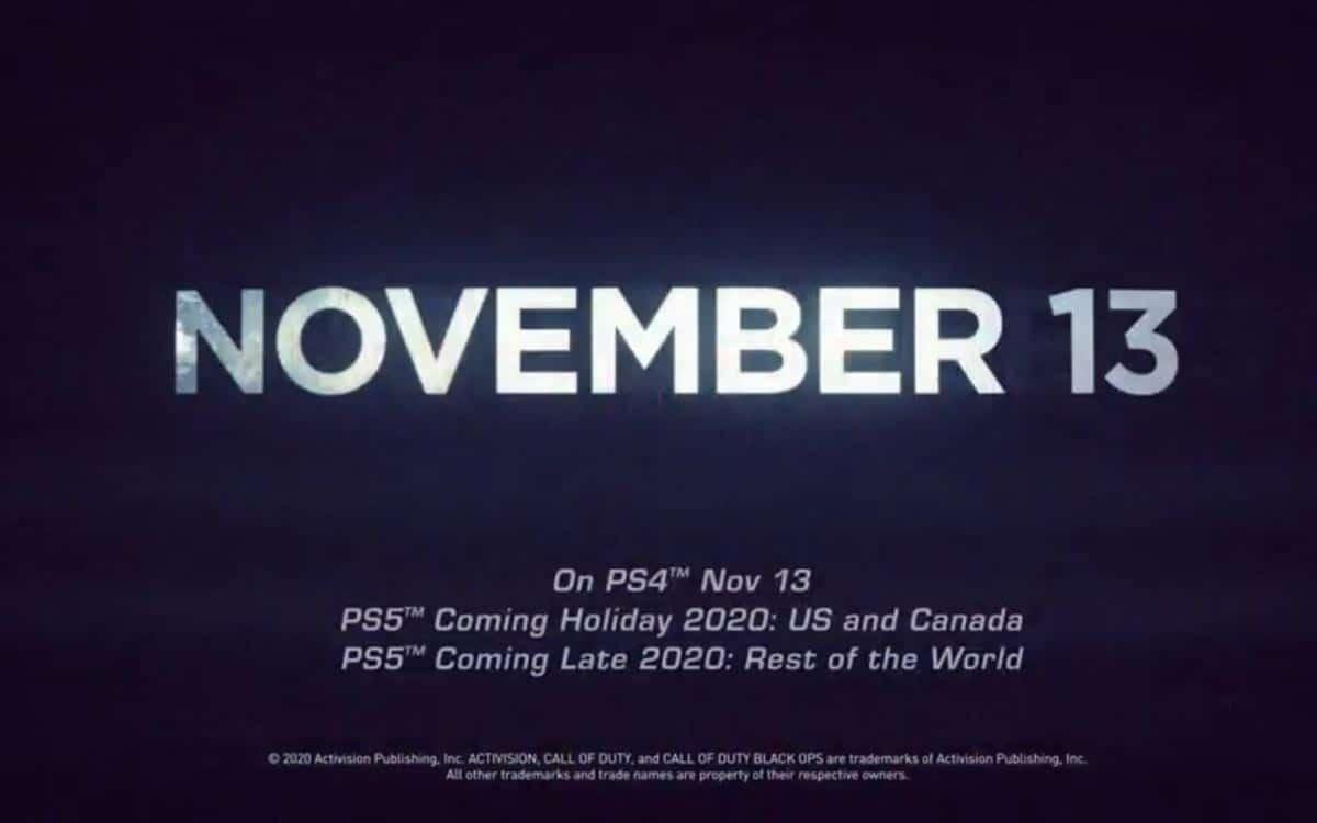 PS5 sortie en Europe