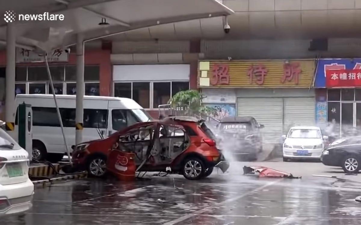 suv explosion