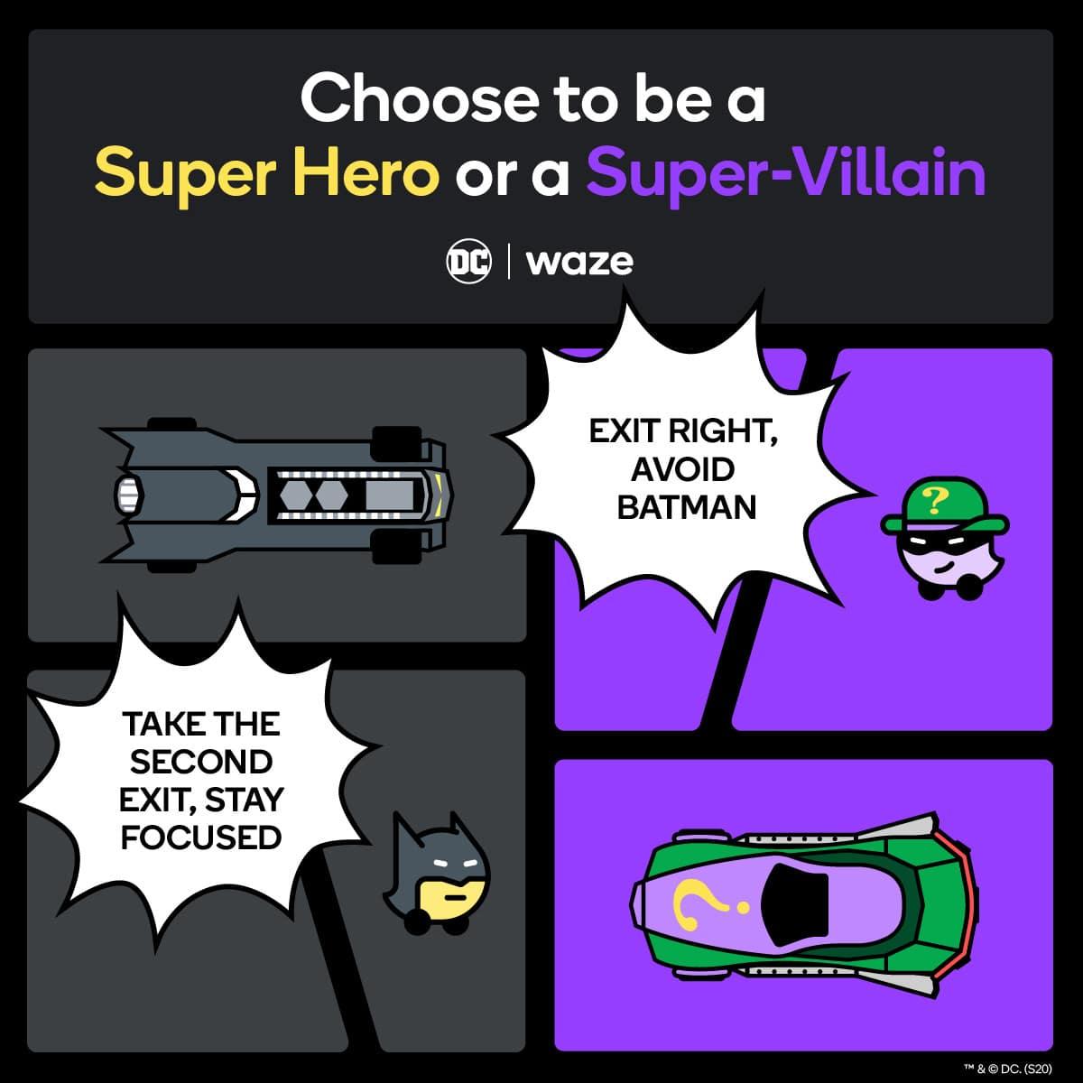 waze batman