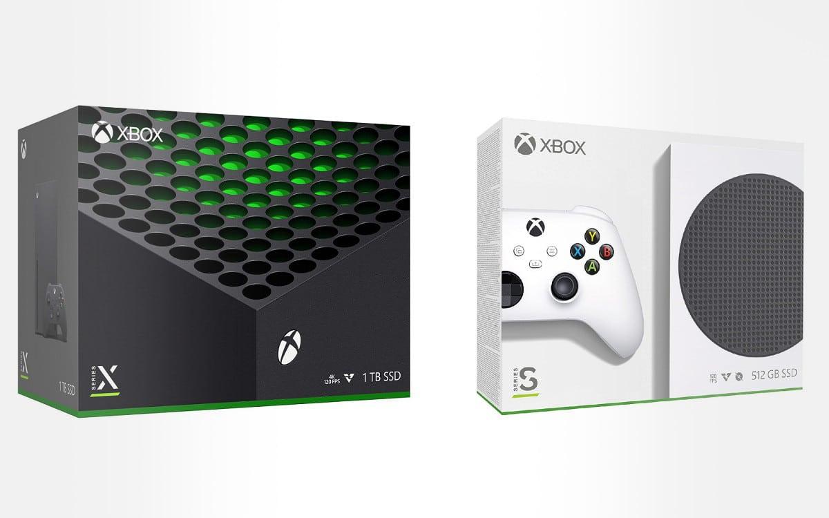 Précommande Xbox Series X et S