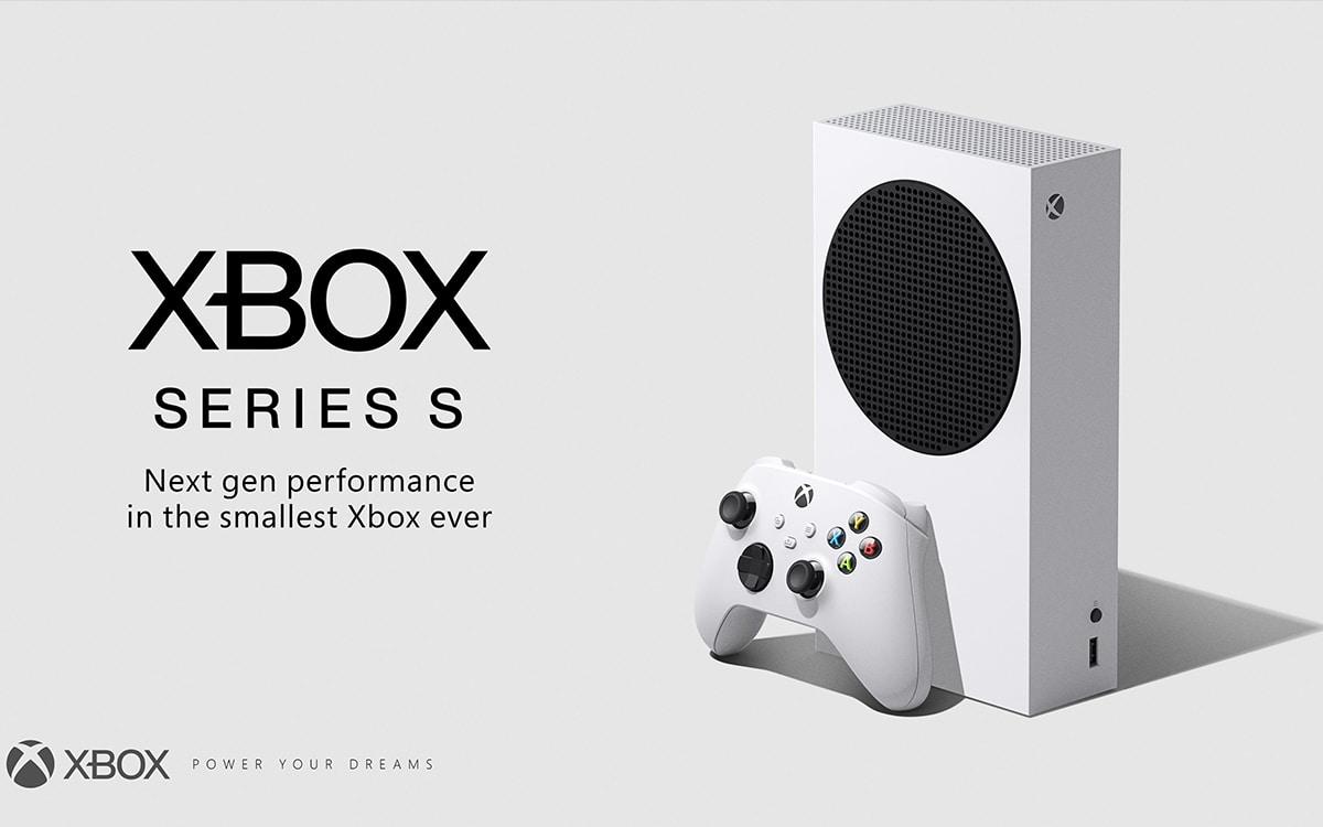 Date et tarfi Xbox Series S