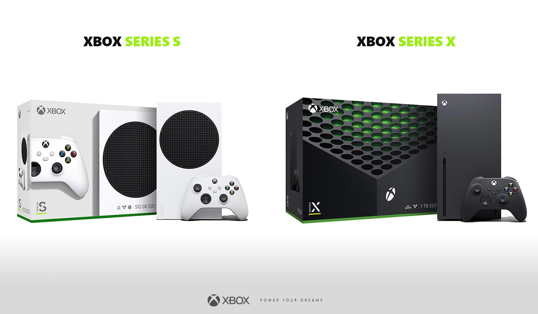 Xbox Series X et Series S : emballage
