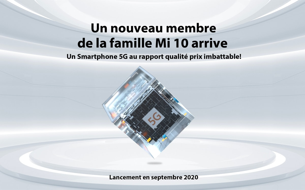 xiaomi mi105g - Xiaomi to launch inexpensive Mi 10 5G in France - PhonAndroid