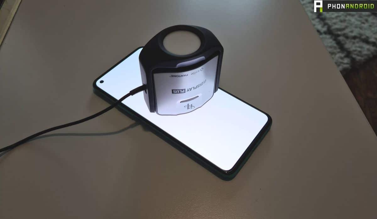 Test écran du OnePlus 8T