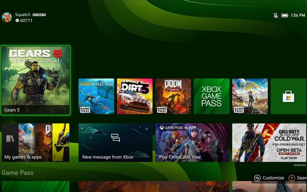 Xbox Series X OS