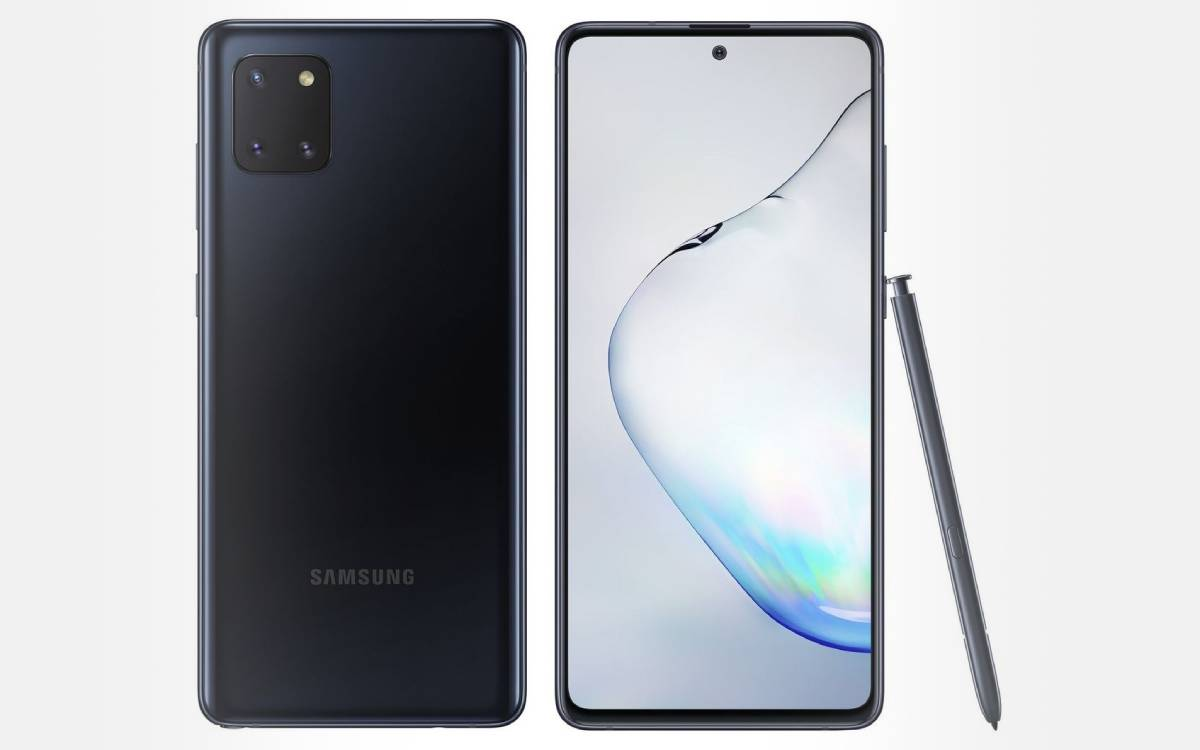 Galaxy Note 10 Lite pas cher