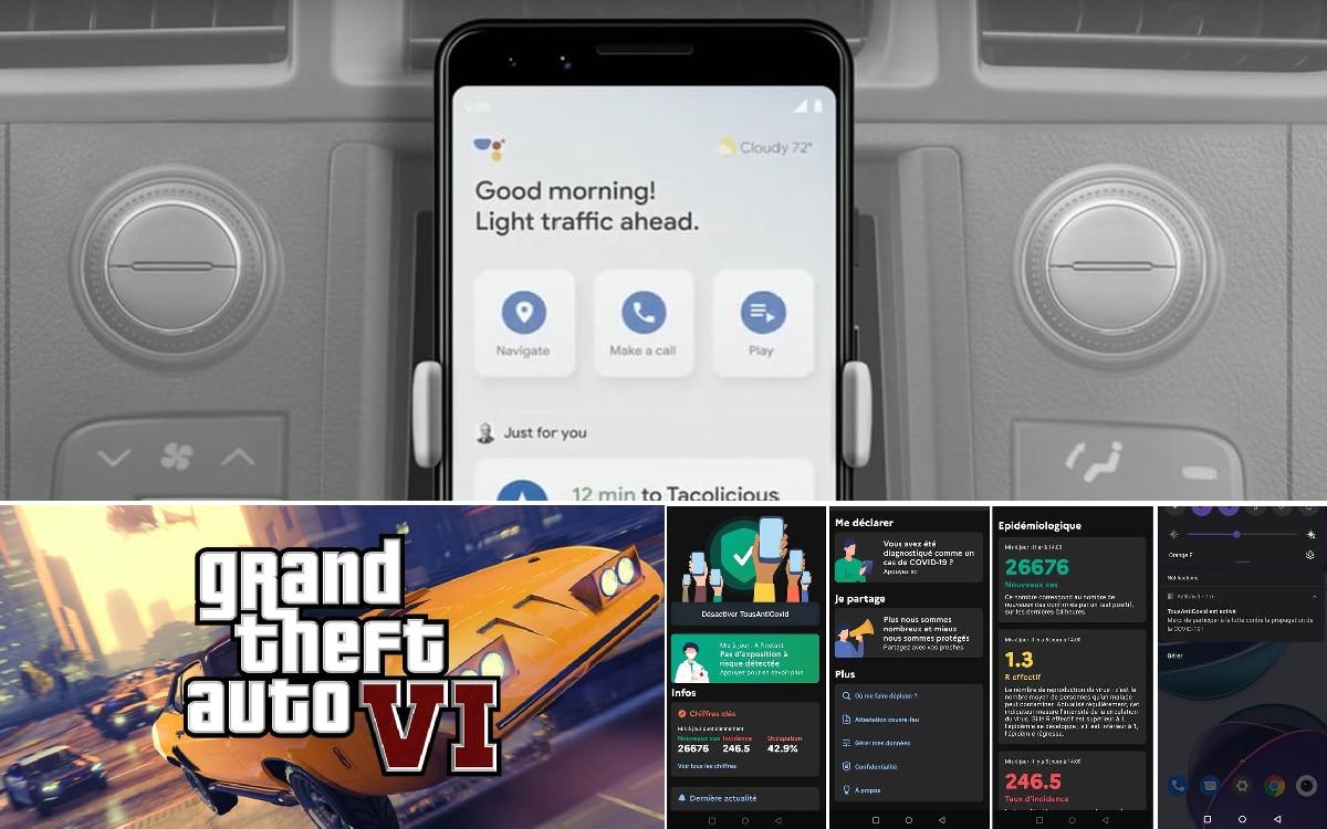 Google Assistant Auto GTA 6 Map TousAntiCovid