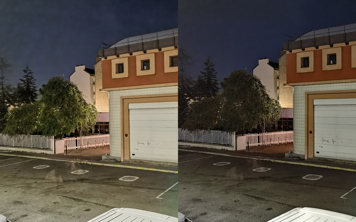 Huawei Mate 40 Pro photo de nuit