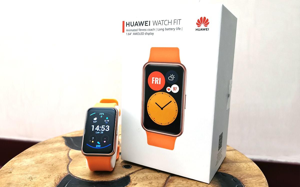 Test Huawei Watch Fit