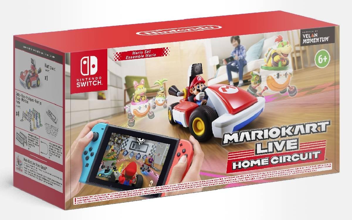 Mario Kart Live Home Circuit sur Switch moins cher sur Auchan.fr