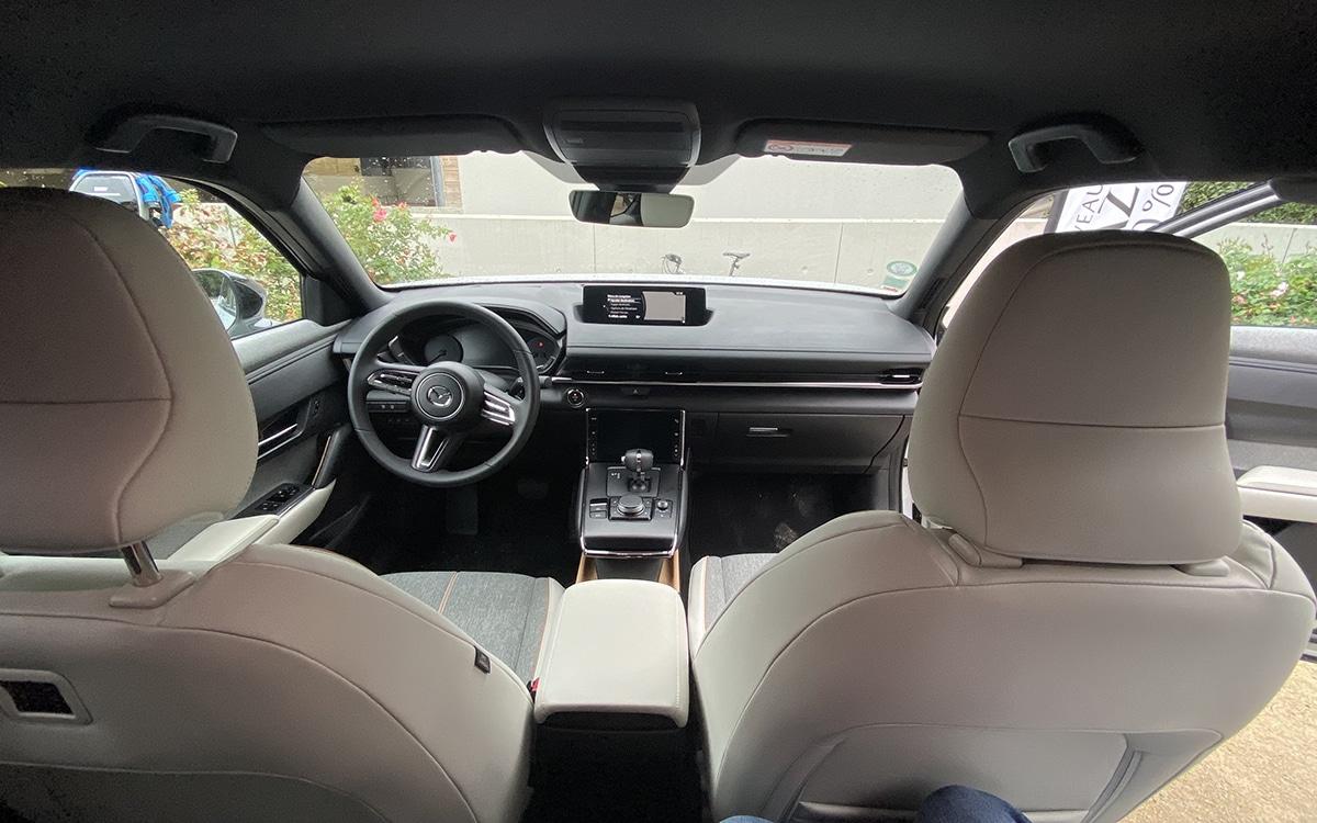 Mazda MX-30 front seat