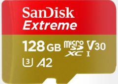MicroSDXC SanDisk Extreme 128 Go