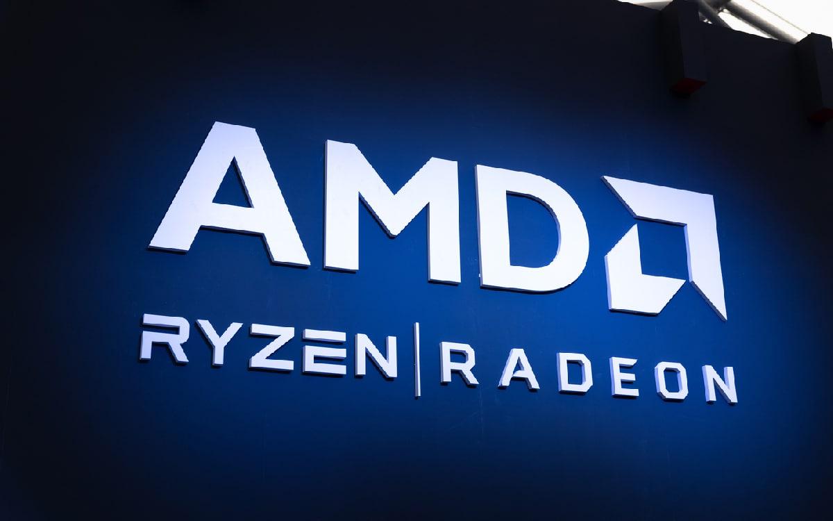 Logo AMD Ryzen Radeon