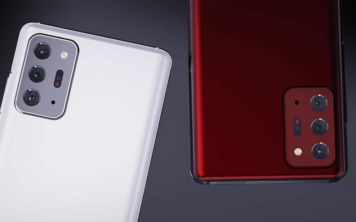 Samsung Galaxy S21 Rendu