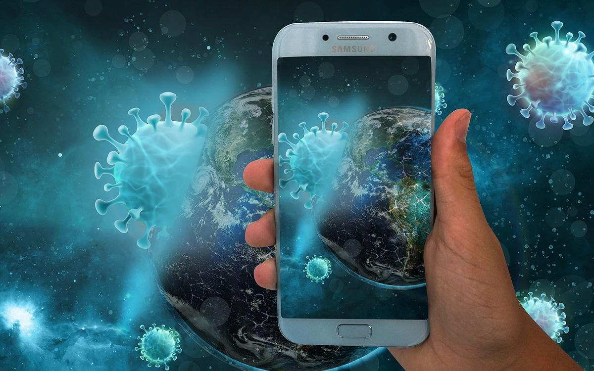 Smartphone Application Covid