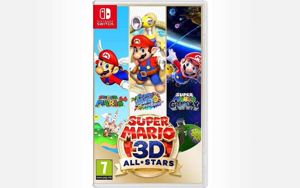 Super Mario 3D All Stars pas cher sur Nintendo Switch