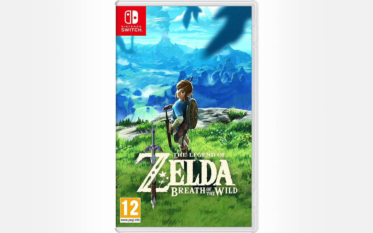 La légende de Zelda Breath of the Wild at the Switch