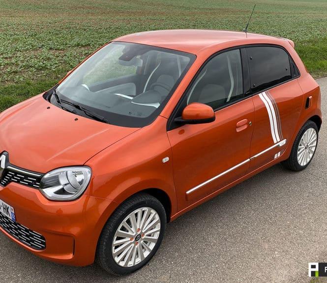 Renault Twingo Electric vue de cote