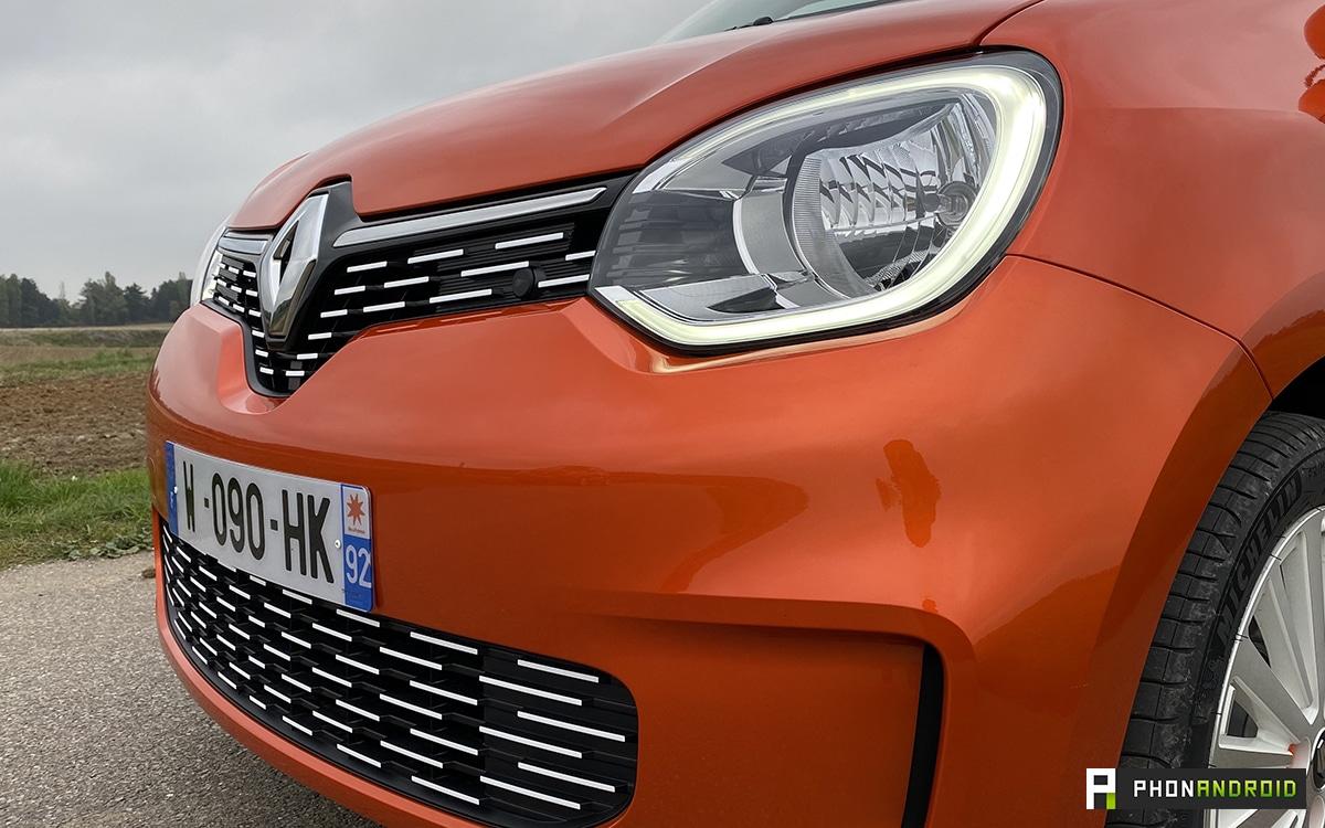 Renault Twingo Electric phare avant